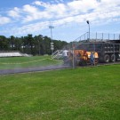 Paving Nauset High Football Field Track